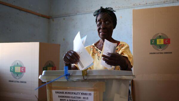 Elezioni in Zimbabwe - Sputnik Italia