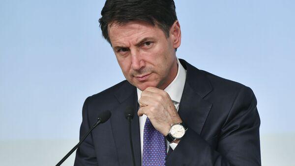 Premier dell'Italia Giuseppe Conte - Sputnik Italia