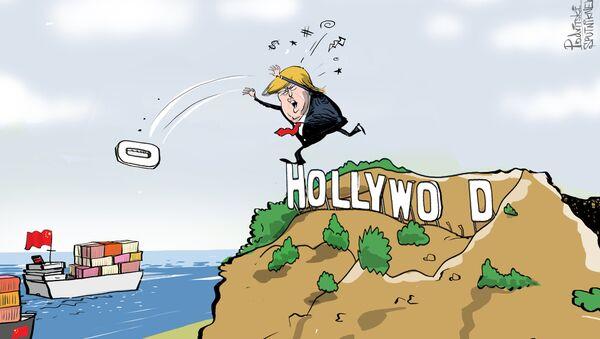La guerra dei dazi potrebbe nuocere allo sviluppo di Los Angeles - Sputnik Italia