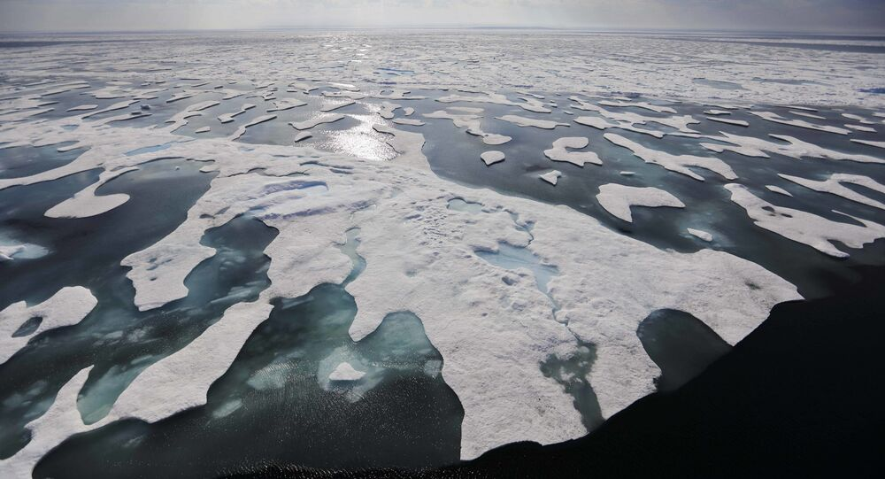 Sea ice melts on the Franklin Strait along the Northwest Passage in the Canadian Arctic Archipelago, Saturday, July 22, 2017. Because of climate change, more sea ice is being lost each summer than is being replenished in winters. Less sea ice coverage also means that less sunlight will be reflected off the surface of the ocean in a process known as the albedo effect. The oceans will absorb more heat, further fueling global warming.