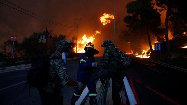 Grecia, incendi - Sputnik Italia