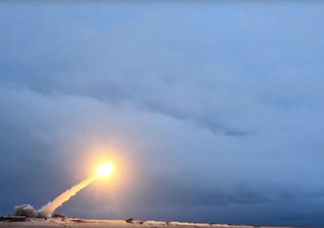 Il missile da crociera con vettore nucleare Burevestnik