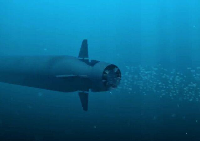 Drone sottomarino russo Poseidon