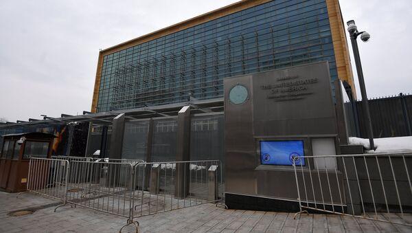 The US Embassy in Bolshoi Devyatinsky Pereulok, Moscow - Sputnik Italia