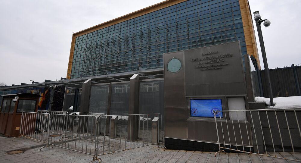 Ambasciata USA a Mosca