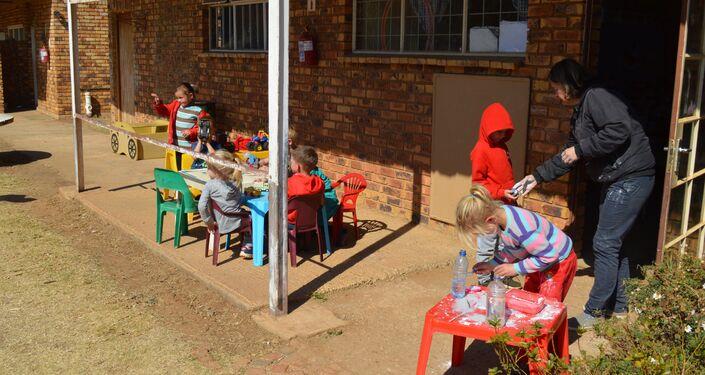 Una scuola a Kleinfontein
