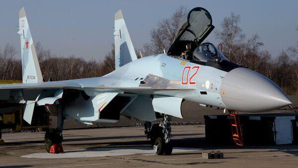 The Sukhoi Su-35S fighter jet - Sputnik Italia