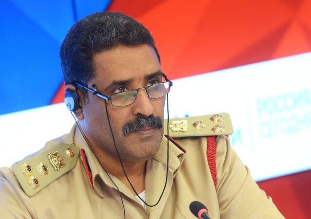 Il portavoce delle forze armate libiche, generale Ahmed al-Mismari
