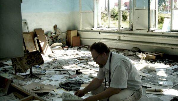 Ennio Bordato nella scuola di Beslan - Sputnik Italia