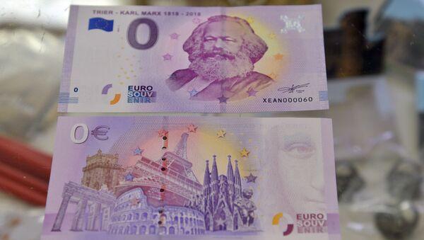 La banconota da zero euro - Sputnik Italia