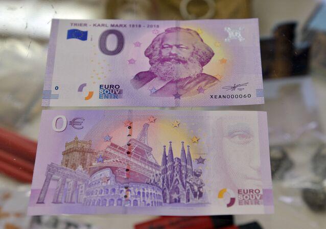La banconota da zero euro