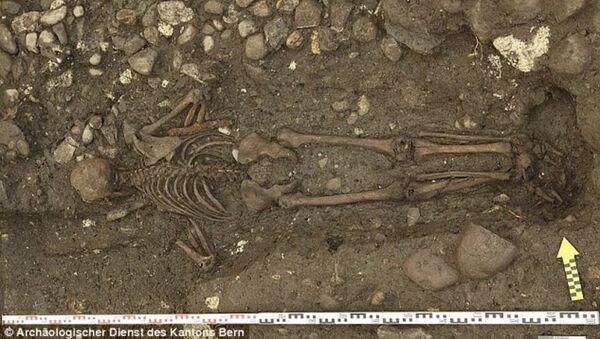 Un antica sepoltura. - Sputnik Italia