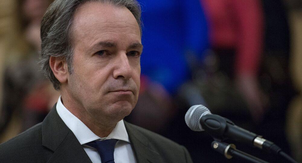 Ex ambasciatore della Grecia in Russia Andreas Friganas