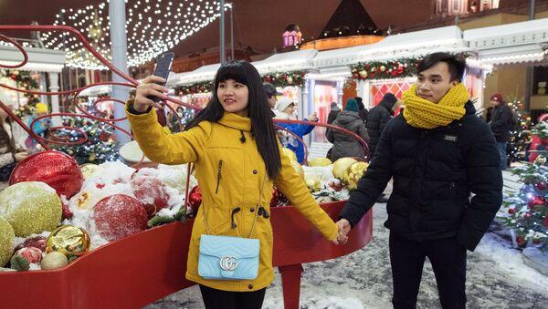 Giovani cinesi a Mosca - Sputnik Italia