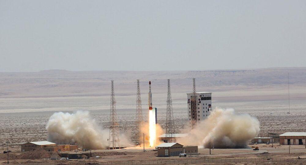Lancio di un missile, Iran