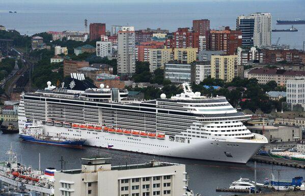 Nave da crociera MSC Splendida, Vladivostok. - Sputnik Italia