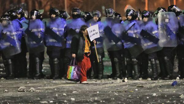 Proteste a Bucarest, Romania - Sputnik Italia