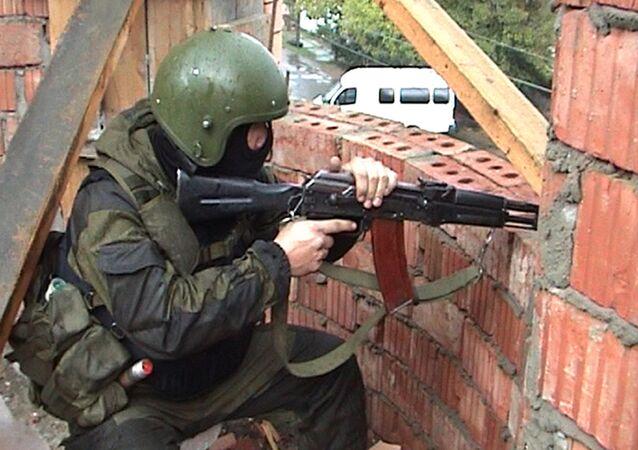 Forze speciali russi del NAK