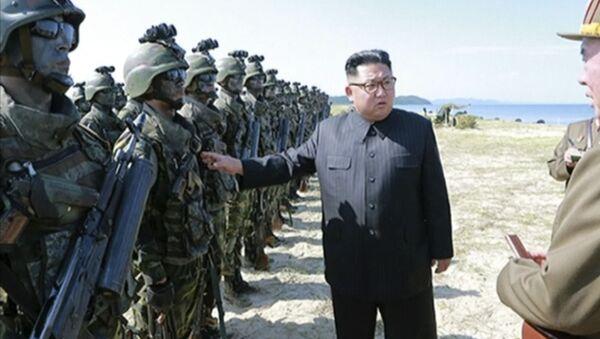 Il leader della Repubblica Popolare Democratica della Corea del Nord Kim Jong-un - Sputnik Italia