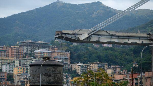 Genova, il ponte crollato - Sputnik Italia