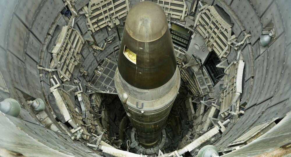 Un missile nucleare USA disattivato, Titan II, in un museo in Arizona