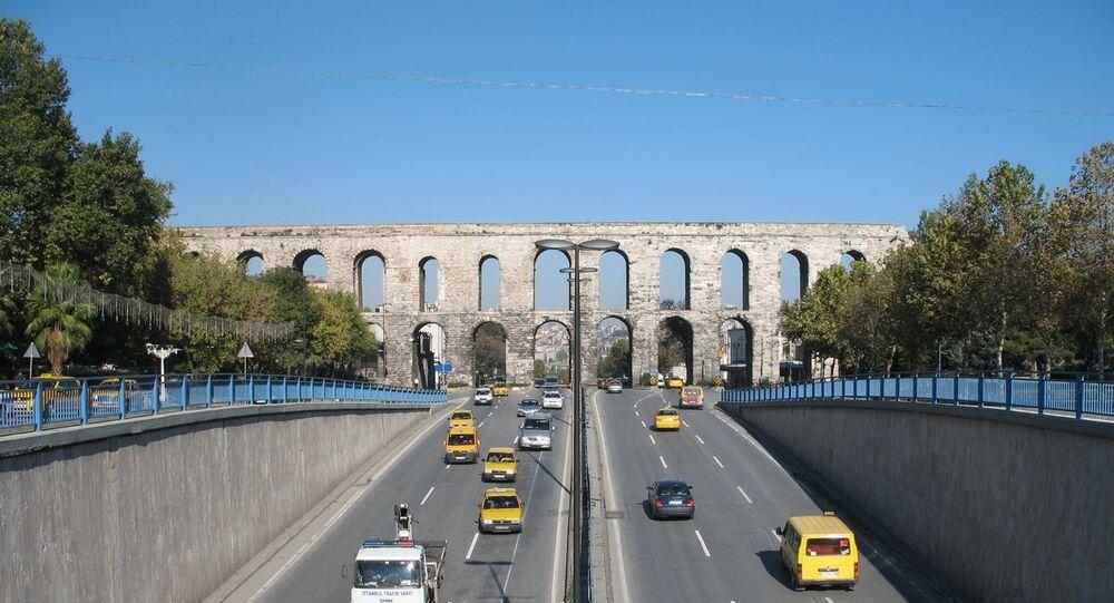 L'acquedotto di Valente nell'antica Costantinopoli