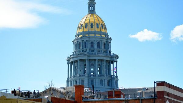 Kapitol w Kolorado, USA - Sputnik Italia