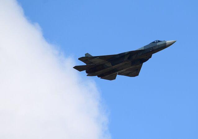 Su-57 multipurpose jet fighter