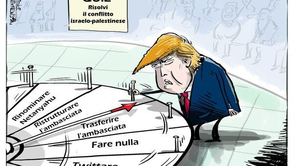 """Trump: """"un giorno il premier di Israele potrebbe chiamarsi Mohammed"""" - Sputnik Italia"""