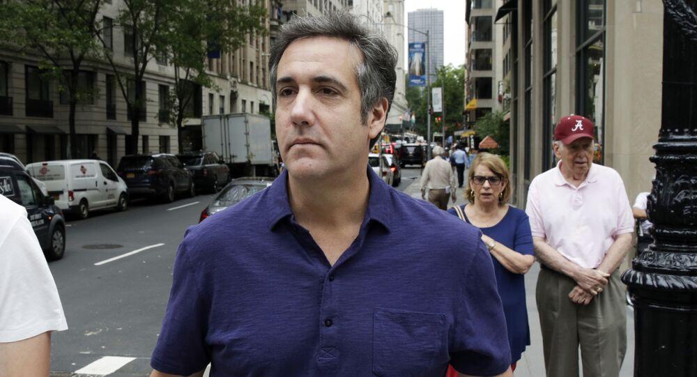 Michael Cohen ex avvocato di Trump