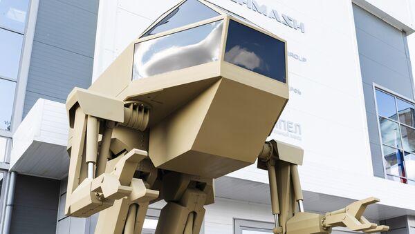 Kalashnikov presenta l'idea di un robot da combattimento antropoide - Sputnik Italia