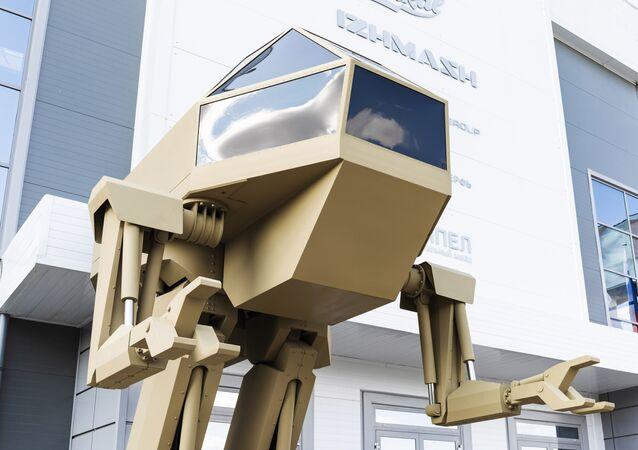Kalashnikov presenta l'idea di un robot da combattimento antropoide
