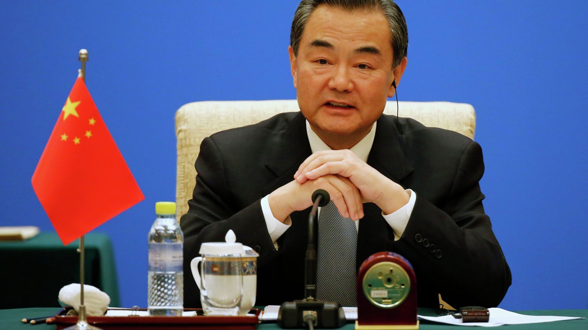 Wang Yi, Ministro degli esteri della Cina  - Sputnik Italia, 1920, 15.07.2021