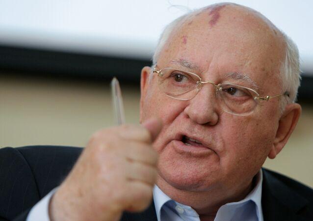 Mikhail Gorbaciov, politico sovietico, l'unico presidente dell'URSS