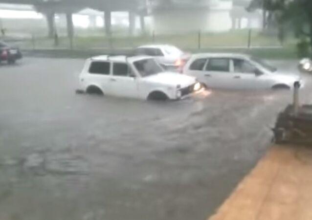 Alluvione a Sochi