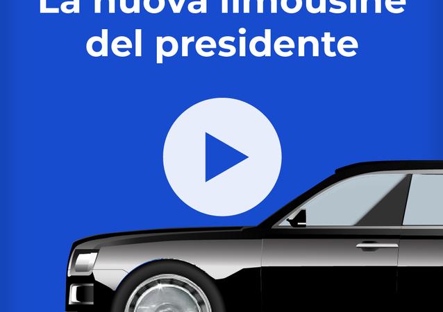 La limousine del presidente russo Putin