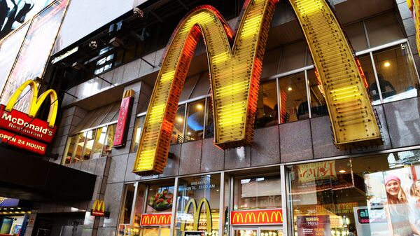 fast food McDonald's - Sputnik Italia