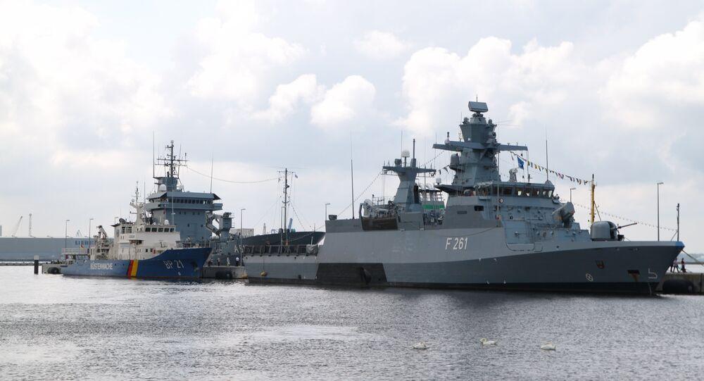 Navi della Marina Militare tedesca (foto d'archivio)