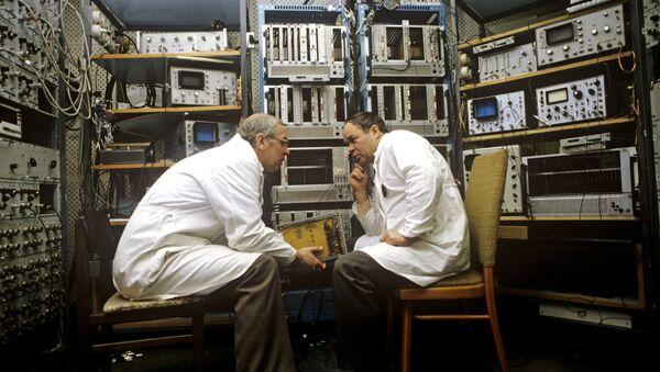 Il laboratorio dell'Istituto unito per la ricerca nucleare a Dubna. - Sputnik Italia