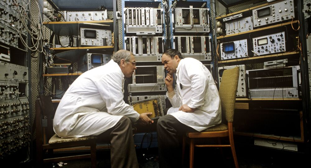 Il laboratorio dell'Istituto unito per la ricerca nucleare a Dubna.