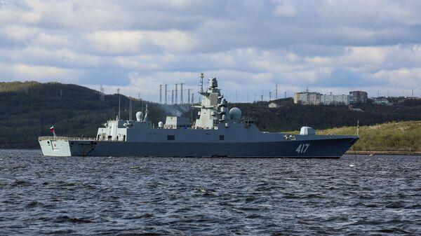 La nave Admiral Gorshkov - Sputnik Italia