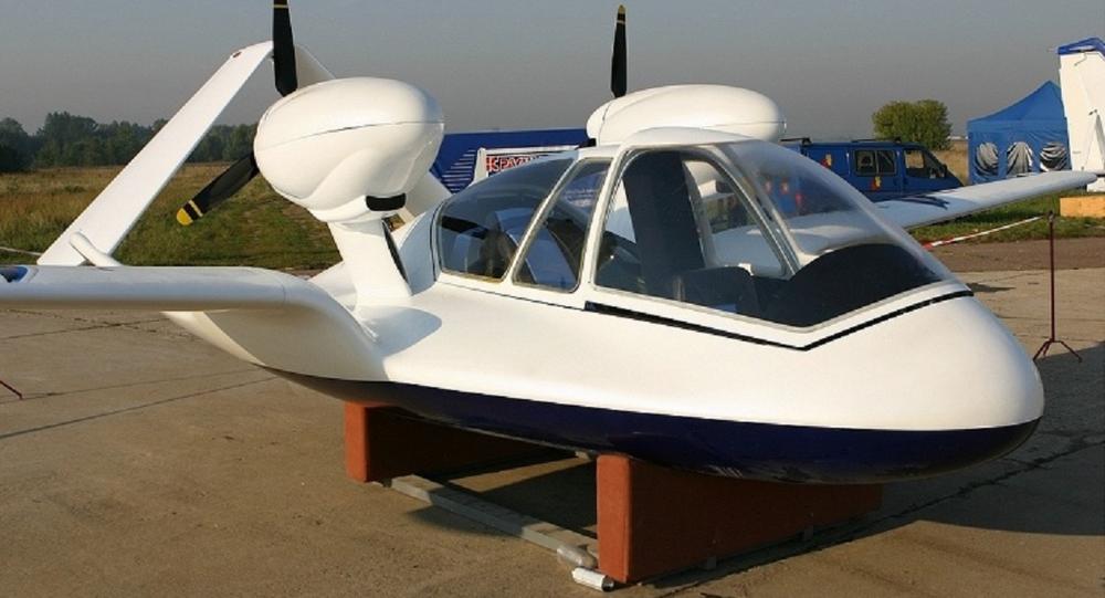 Un drone anfibio russo dotato di motore ibrido