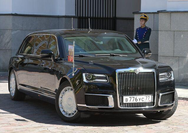 La limousine Aurus del presidente russo
