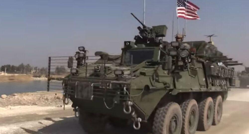 US Convoy in Syria
