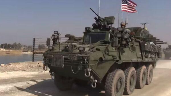 US Convoy in Syria - Sputnik Italia
