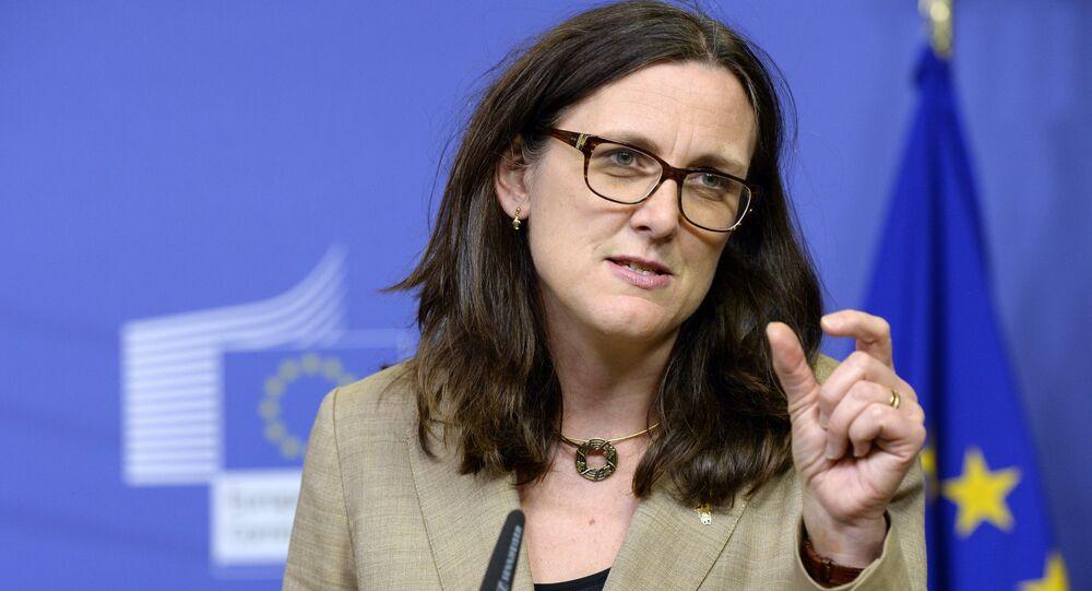 Commissario europeo del commercio, Cecilia Malmström