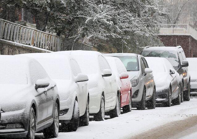 Ankara sotto la neve