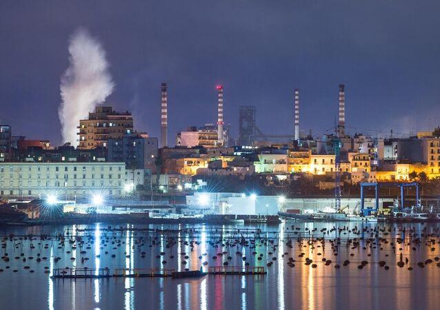 Arcelor Mittal di Taranto (foto d'archivio)