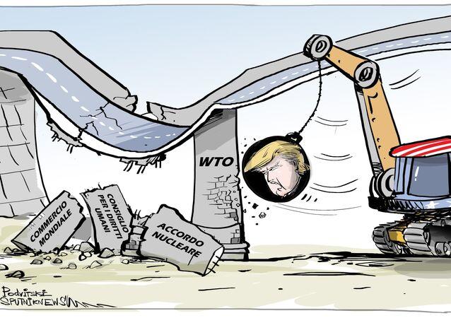 Trump annuncia possibile uscita USA dal WTO