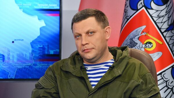Alexander Zakharchenko, the head the self-proclaimed Donetsk People's Republic (DPR). - Sputnik Italia